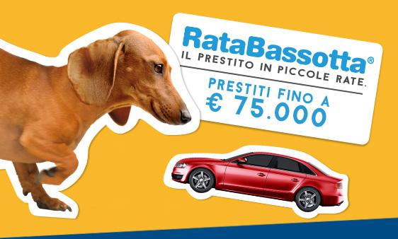 RataBassotta. Prestiti fino a 75.000 Euro
